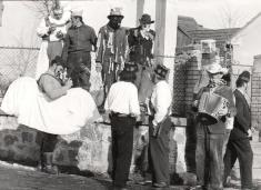 Požárnický masopust r. 1979